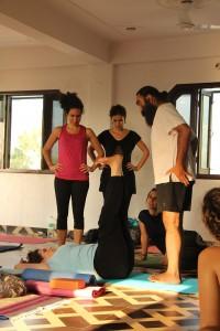 Surinder teaching